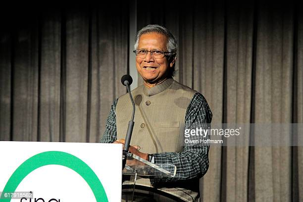 Muhammad Yunus attends Sing for Hope Gala featuring Renee Fleming and Tituss Burgess CoChaired by Renee Fleming Margie Loeb Muhammad Yunus Ann Ziff...