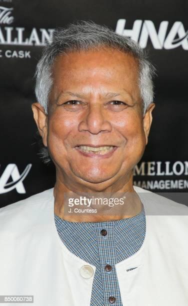 Muhammad Yunus attends the Forbes Media Centennial Celebration at Pier 60 on September 19 2017 in New York City