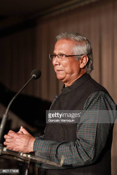 Muhammad Yunus during the Sing for Hope Gala 2017 at Tribeca Rooftop on October 16 2017 in New York City