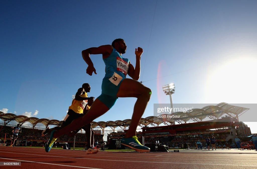 Muhammed Anas Yahiya of India competes in the Men's 400 metres heats on day four of the Gold Coast 2018 Commonwealth Games at Carrara Stadium on April 8, 2018 on the Gold Coast, Australia.