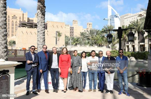 Muhr jury members Hani Al Shaibani Magdi Ahmed Ali Raed Andoni Martina Gedeck Sahar Dolatshahi Ahd Kamel Ahmad Abdalla Fareed Ramadan Gilles Marchand...