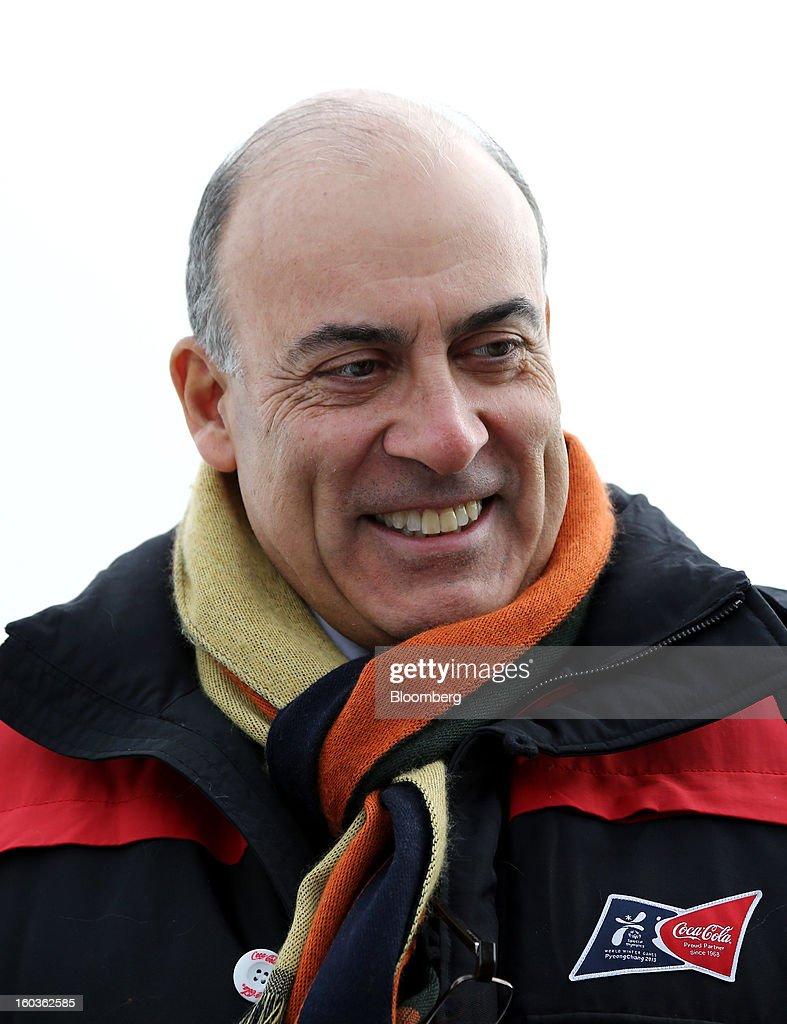 Muhtar Kent, CEO of Coca-Cola Visits The Pyeongchang Special Olympics Winter Games