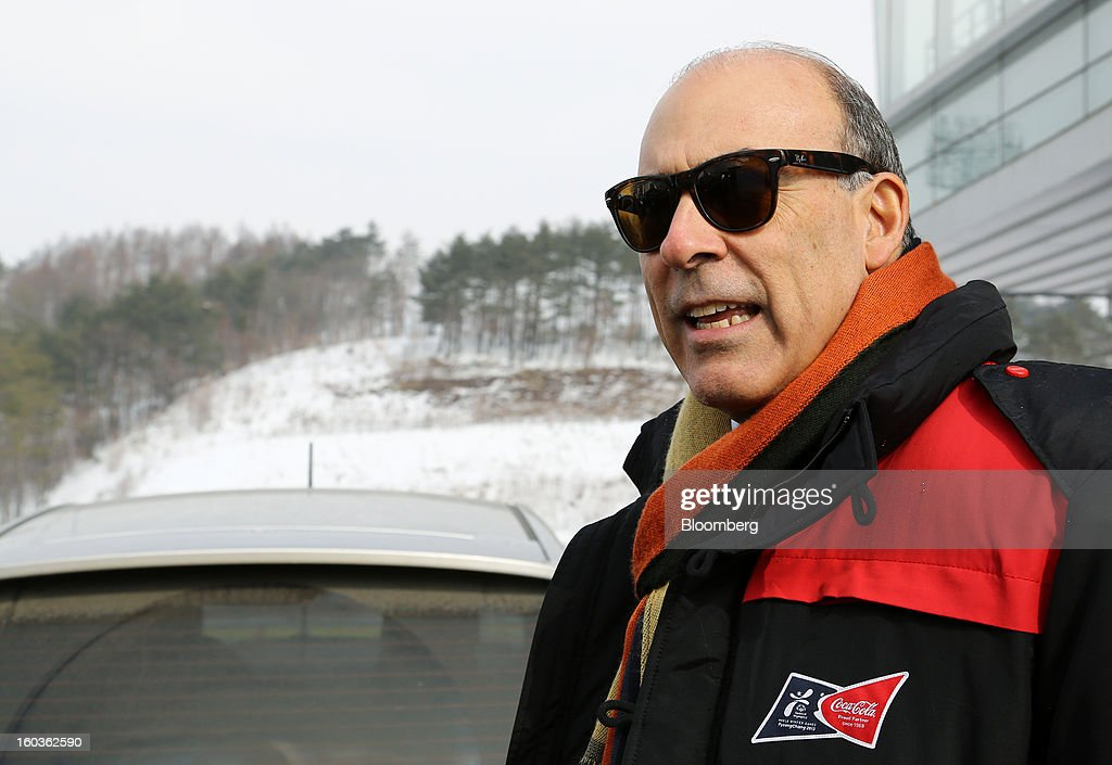Muhtar Kent, CEO of Coca-Cola Visits The Pyeongchang Special Olympics Winter Games