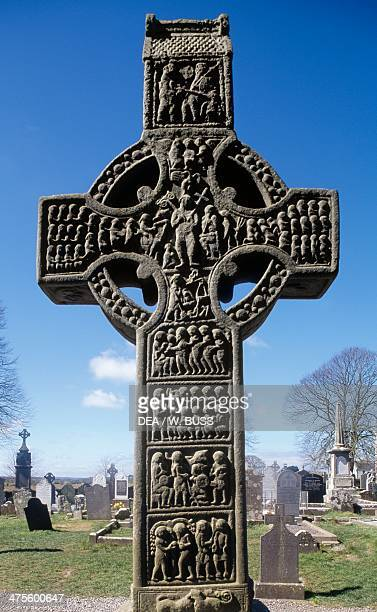 Muiredach's High Cross Monasterboice County Louth Ireland Celtic civilisation 10th century
