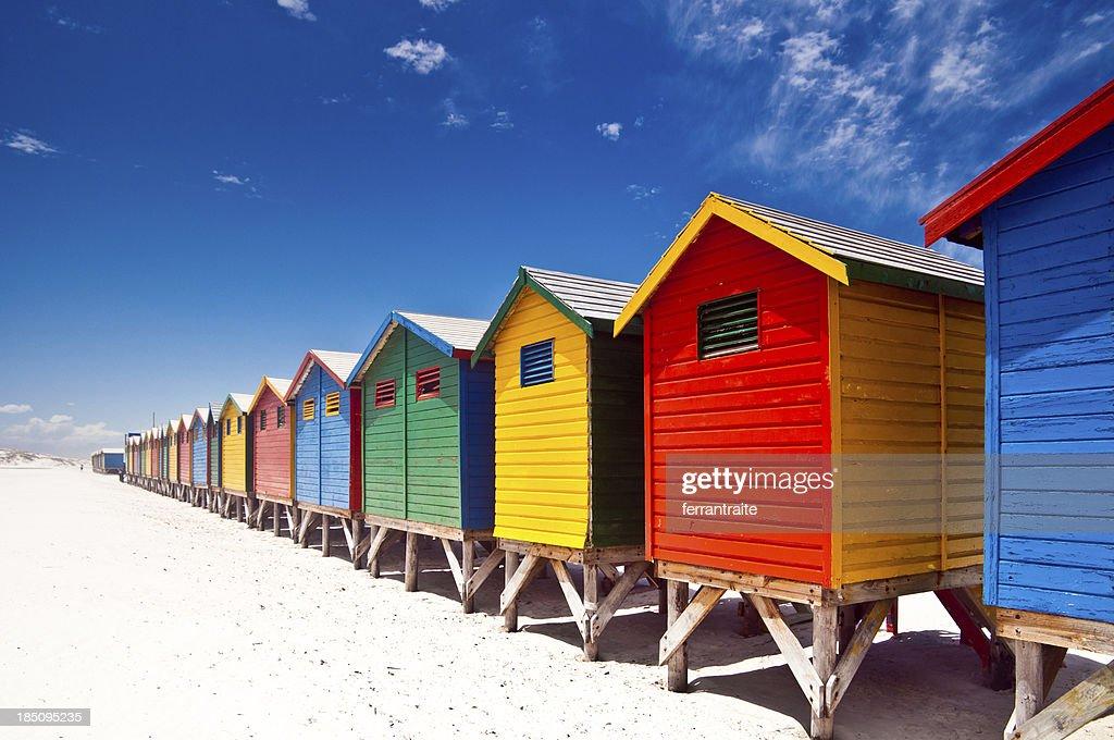 Muizenberg Beach Cape Town : Stock Photo