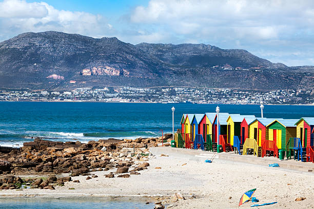 """Muizenberg, Cape Town"" Wall Art"