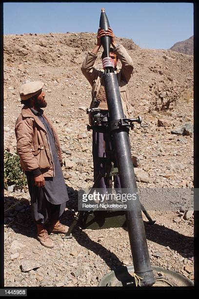 A mujahideen loads a rocket launcher March 15 1989 in Jalalabad Afghanistan The end of Soviet military occupation which began in 1979 will leave the...
