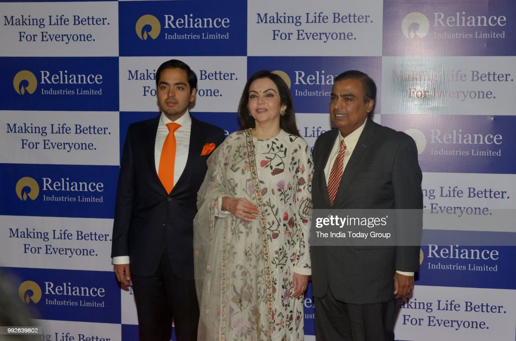 Reliance Industries 41st Annual General Meeting : News Photo