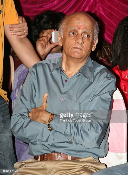Mukesh Bhatt at the music launch of the film Aashiqui 2 in Mumbai on 8th April 2013
