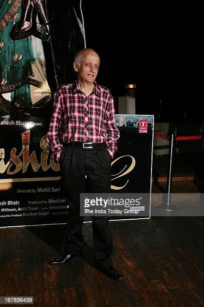Mukesh Bhatt at the success party of Aashiqui 2 on 30th April 2013 in Mumbai