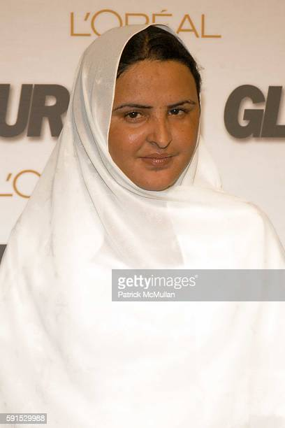 Mukhtar Mai attends GLAMOUR MAGAZINE Salutes The 2005 Women of the Year Red Carpet and Press Room at Avery Fisher Hall on November 2 2005 in New York...