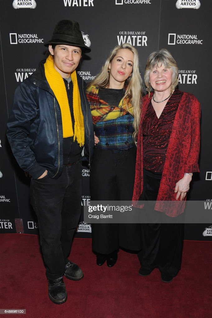 """Stella Artois And National Geographic World Premiere Of """"Our Dream Of Water,"""" Documentary By Award-Winning Director Crystal Moselle : News Photo"""