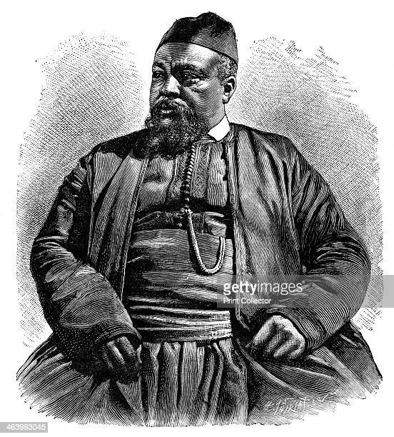 Mulai Tayeb, the Sheriff of Wezzan, North Africa, 1895. From The Universal Geography with Illustrations and Maps, division XXII, written by Elisee...