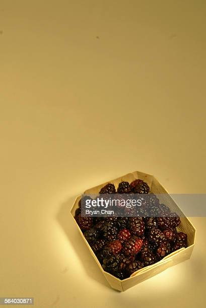Mulberries in a basket