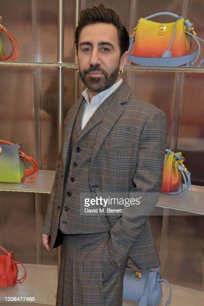 Mulberry Creative Director Johnny Coca attends the launch event of Mulberry's 'Iris for Iris' capsule collection designed by Iris Law, on March 10,...