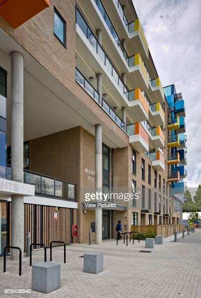 Mulberry House block Central Park Apartments Lewisham London United Kingdom Architect bptw partnership 2014