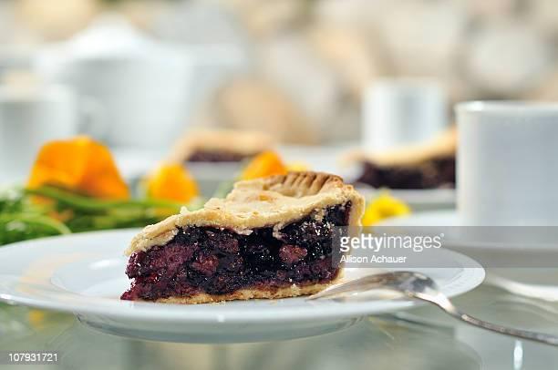 mulberry pie - マルベリー ストックフォトと画像