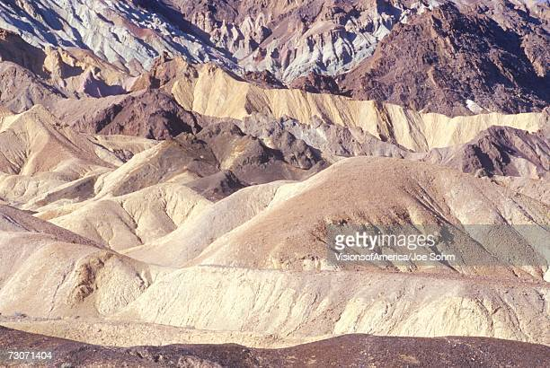 '20 Mule Team Canyon, Death Valley, California'