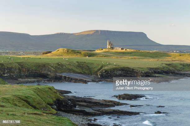 Mullaghmore and Benbulbin in County Sligo, Ireland.