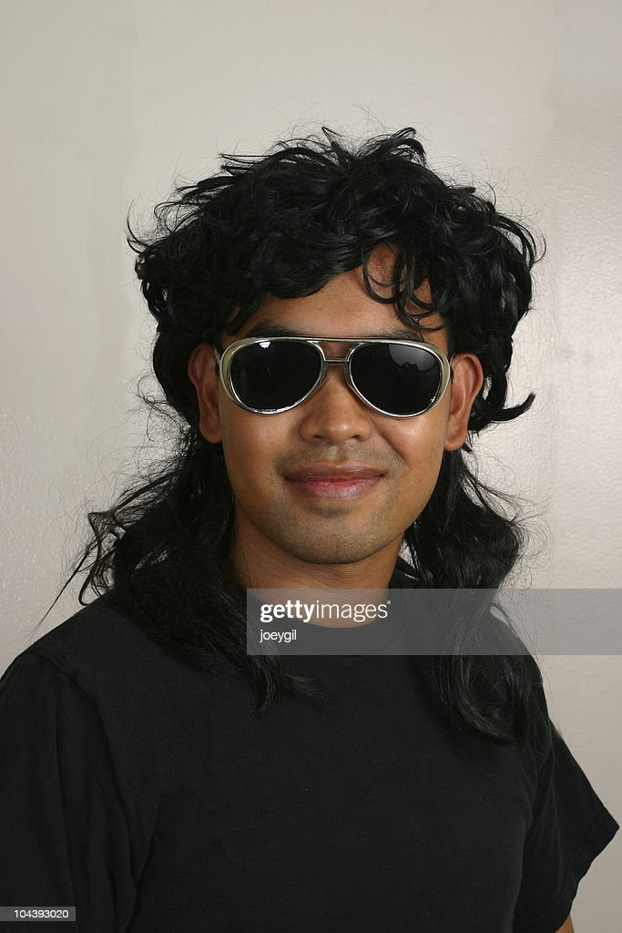 Mullet Man : Stock Photo