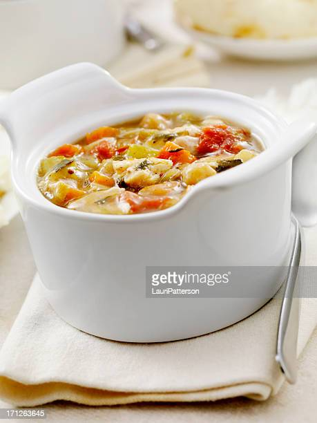 mulligatawny soup - chicken soup stock photos and pictures