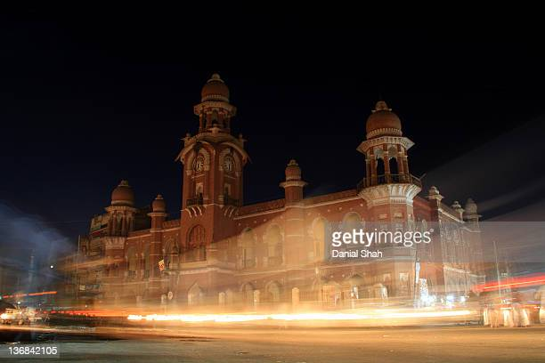 multan clock tower - british colonial architecture - multan stock pictures, royalty-free photos & images
