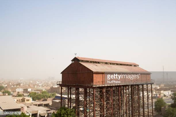 Multan, Pakistan, 4 October 2018. A general view of the city the mausoleum of Shah Rukn-e-Alam.