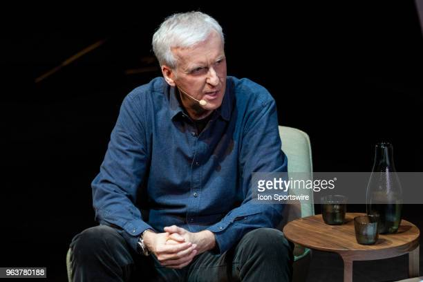 Multi Academy Award winning director James Cameron at The Game Changer conference for Vivid Sydney on May 27 at The City Recital Hall in Sydney...