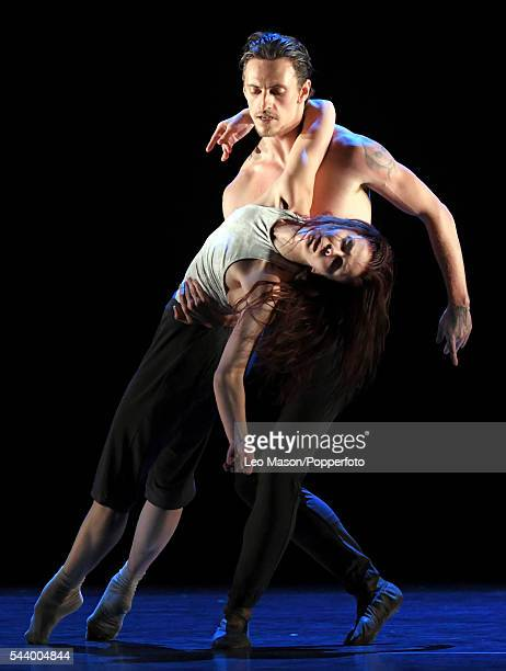 Multi awardwinning Russian classical ballerina Natalia Osipova and Sergei Polunin perform contemporary work in 'Silent Echo' for the first time at...