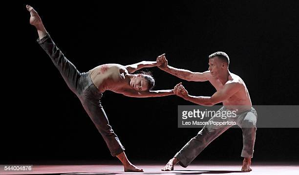 Multi awardwinning Russian classical ballerina Natalia Osipova and Jason Kittelberger perform contemporary work in 'Qutb' for the first time at...