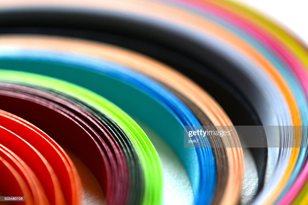 Multi Color Papers Stock Photo | Getty Images