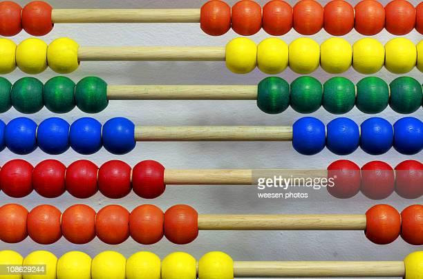 Multi colored abacus