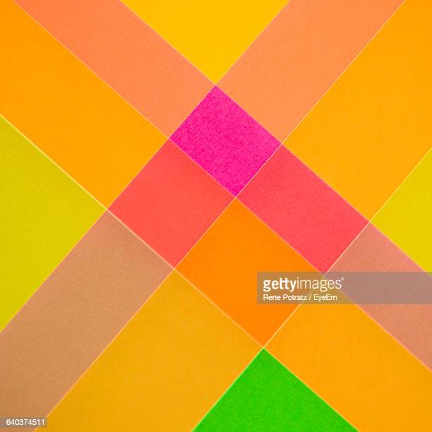 Multi Colored Checked Pattern Background