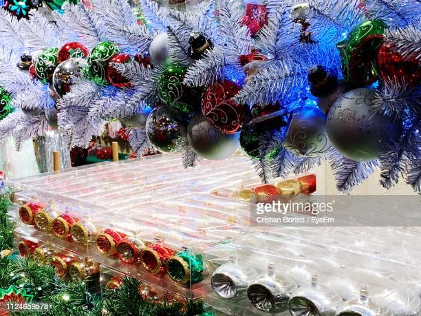 multi colored christmas decoration - bortes stock pictures, royalty-free photos & images
