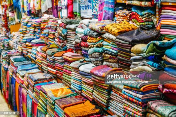 Multi Colored Fabrics For Sale In Market