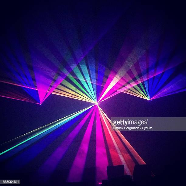 Multi Colored Laser Lights