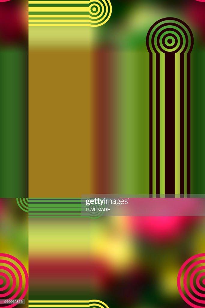 Multi Coloured Digital Abstract. : Stock-Foto