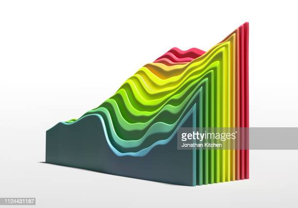multi coloured graph - instrument of measurement stock pictures, royalty-free photos & images