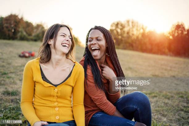 multi ethnic friendship - lgbtq  and female domestic life stock pictures, royalty-free photos & images