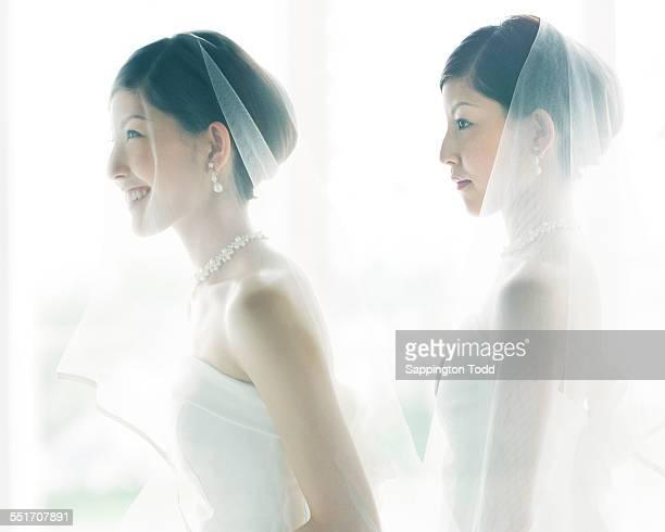 Multi Exposure Of Bride