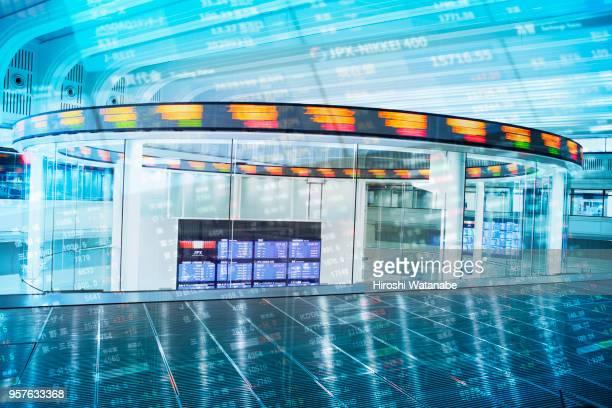 Multi layered, Tokyo Stock Exchange