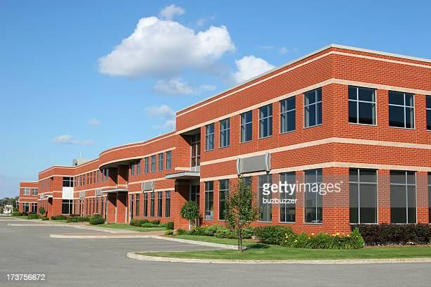 Multi Office Brick Building