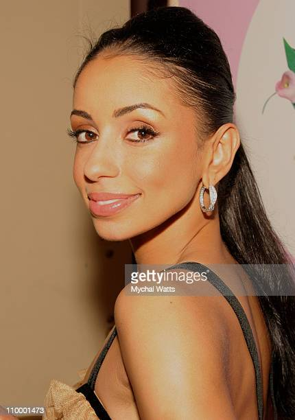 Multi Platinum Universal Motown Artist Mya during QVC Presents FFANY Shoes on Sale a Benefit for Breast Cancer Research and Initiatives at Waldorf...