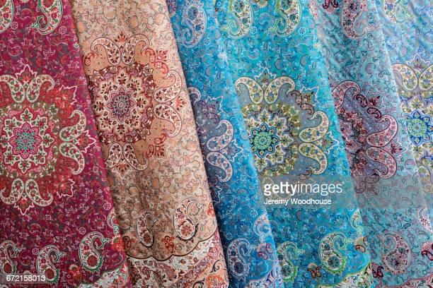 multicolor fabrics - isfahan ストックフォトと画像