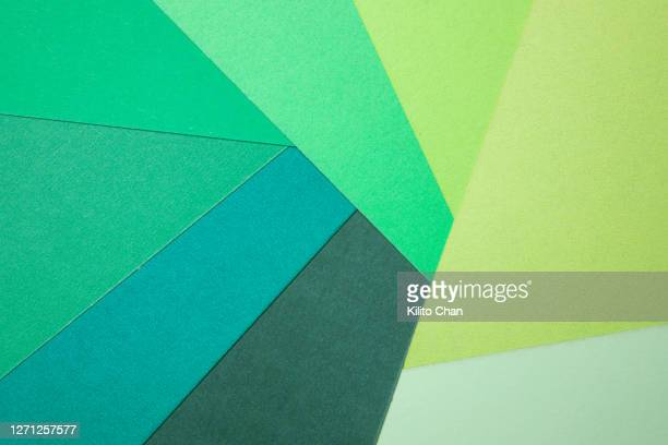 multicolor paper abstract background-green gradient color - order stock pictures, royalty-free photos & images