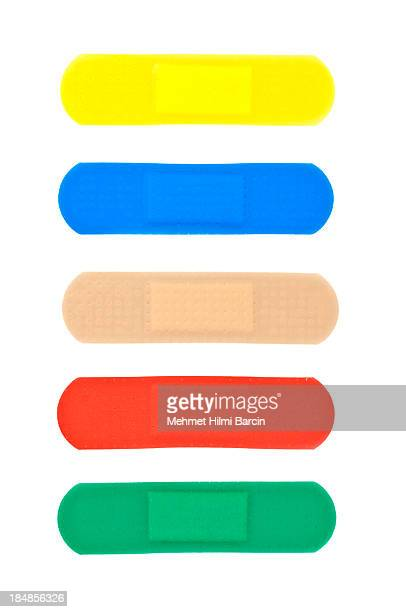 Multicolored Adhasive Band-Aids