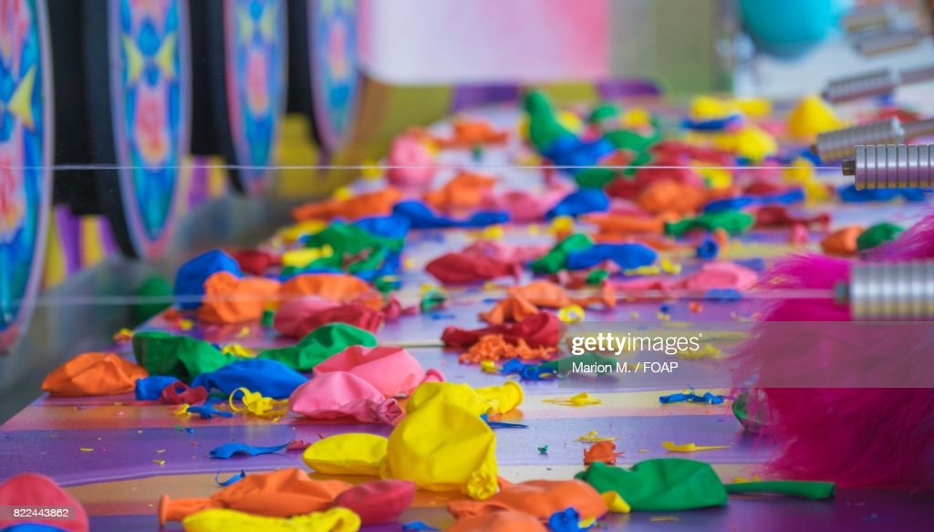 Multicolored balloons : Stock Photo