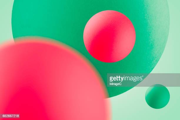 multi-colored balls in mid air - zoom background stock pictures, royalty-free photos & images