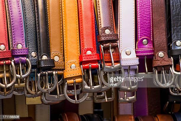 Multicolored belts
