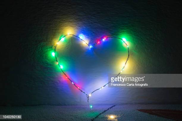 multicolored heart - tempio pausania stock pictures, royalty-free photos & images